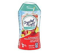 Crystal Light Liquid Drink Mix with Caffeine Strawberry Pineapple Refresh - 1.62 Fl. Oz.