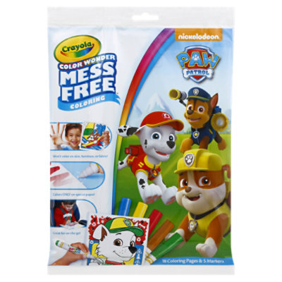 Crayola Paw Patrol Color Pages - Each - Vons