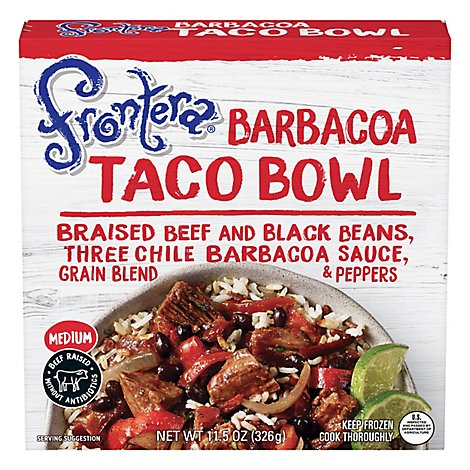 Frontera Taco Bowl Barbacoa Medium - 11.5 Oz