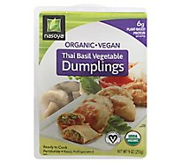 Nasoya Organic Dumplings Thai Basil Vegetable - 9 Oz