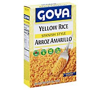 Goya Rice Yellow Spanish Style Box - 7 Oz