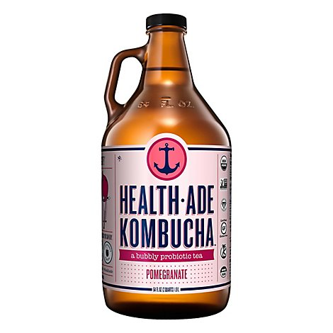 Health Ade Pomegranate Kombucha - 64 Fl. Oz.