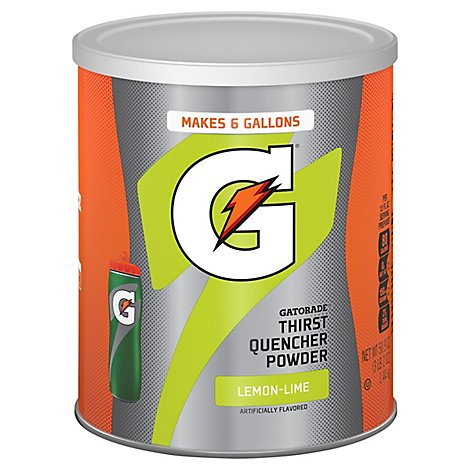 Gatorade Powder Lemonlime - 51 Oz