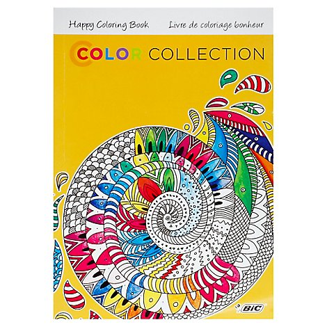 Bic Happy Coloring Bk - Each
