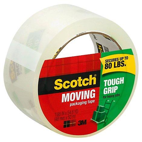 Scotch Tough Grip Packaging Tape 1.88 Inch x 54.6 Yard - Each