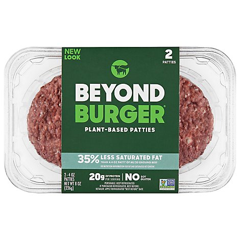 Beyond Meat Beyond Burger Plant Based Beef Patties - 8 Oz.