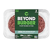 Beyond Meat Burger Patties Plant Based 2 Count - 8 Oz
