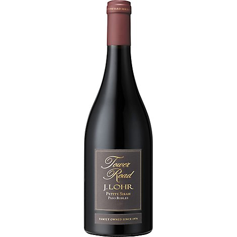 J Lohr Petite Sirah Tower Road - 750 Ml