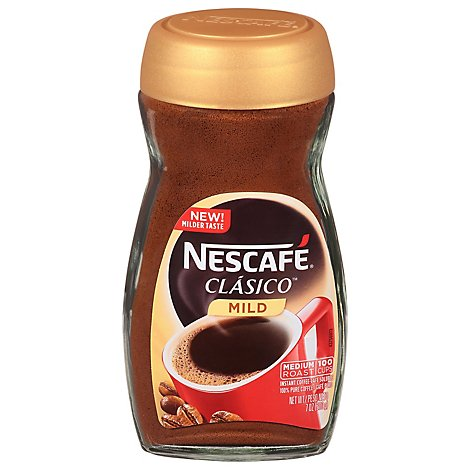 Nescafe Clasico Instant Coffee Mild - 7 Oz