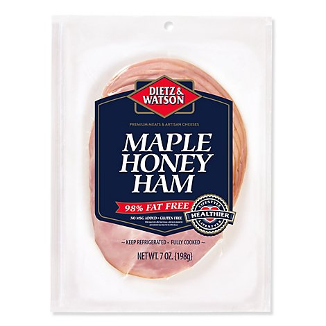 Dietz & Watson Originals Pre-Sliced Maple & Honey Ham - 7 Oz
