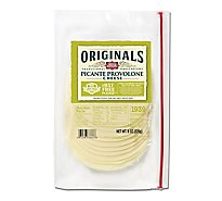 Dietz & Watson Originals Pre-Sliced rBST-Free Picante Provolone Cheese - 8 Oz
