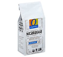 O Organics Coffee Organic Arabica Ground Medium Roast Nicaragua - 10 Oz