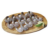 Seafood Counter Shrimp Skewer Raw 31-40 Count Peeled & Deveined 2.75 Oz 1 Ct Service Case - Each