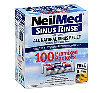 Neilmed Sinus Rinse Packets - 100 Count