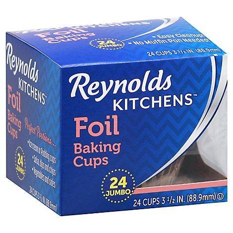 Reynolds Baking Cups Foil Jumbo - 24 Count