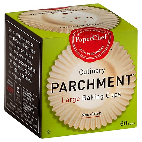 Paper Chef Parchment Baking Cups - 60 Count