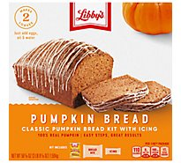 Libbys Bread Kit Pumpkin With Icing - 56.1 Oz