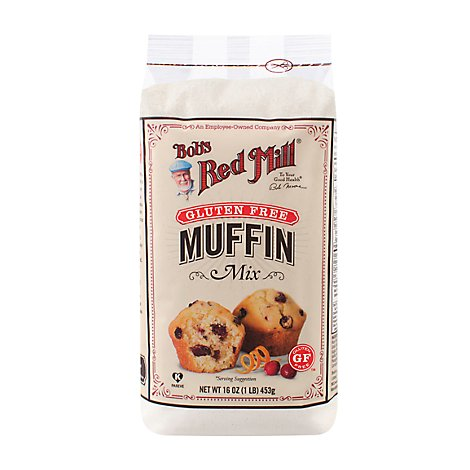 Bobs Red Mill Gluten Free Muffin Mix - 16 Oz