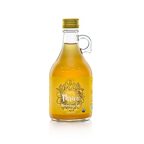 Soma Lemon Ginger Kombucha - 16 Fl. Oz.