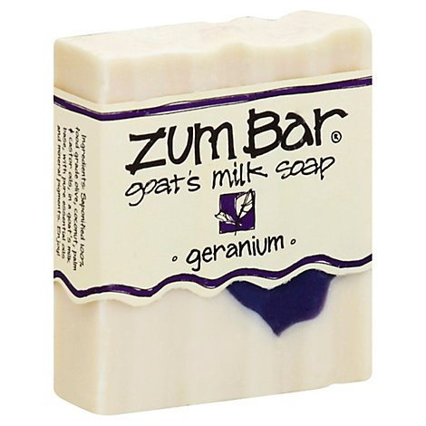 Zum Bar Soap Goats Milk Geranium - 3 Oz