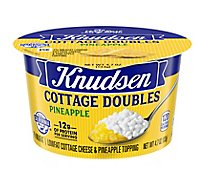 Knudsen Cottage Cheese Double Pineapple - 4.7 Oz