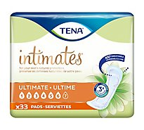 TENA Intimates Pads Ultimate Regular - 33 Count