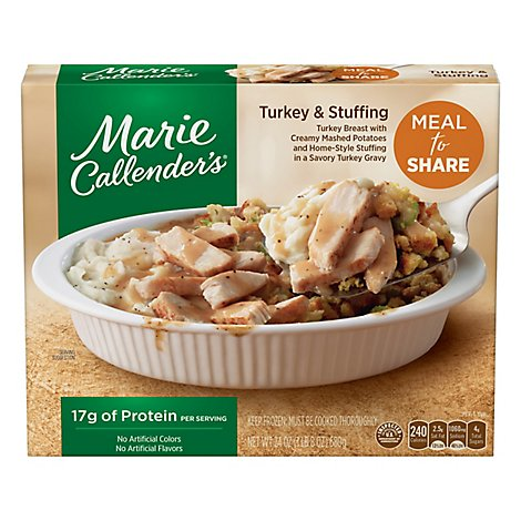 Marie Callenders Meal for Two Turkey & Stuffing - 24 Oz