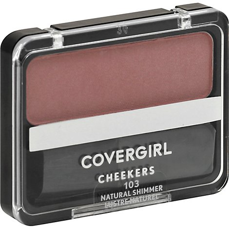 Cg Cheekers Blush Nat Shimmer - 1 Oz