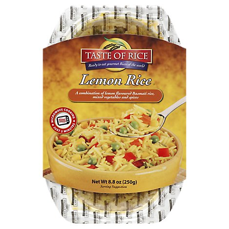 Taste Of Rice Lemon Rice - 8.8 Oz