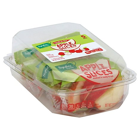 Signature Farms Apple Slices Multipack - 5-2 Oz