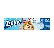 Ziploc Seal Top Bags Freezer Gallon Holiday - 14 Count
