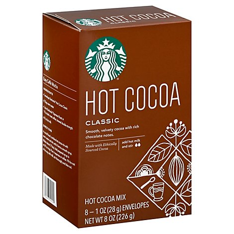 Starbucks Cocoa Hot Classic Mix - 8-1 Oz