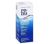re-nu Multi-Purpose Solution Bausch & Lomb Advanced Formula - 4 Fl. Oz.