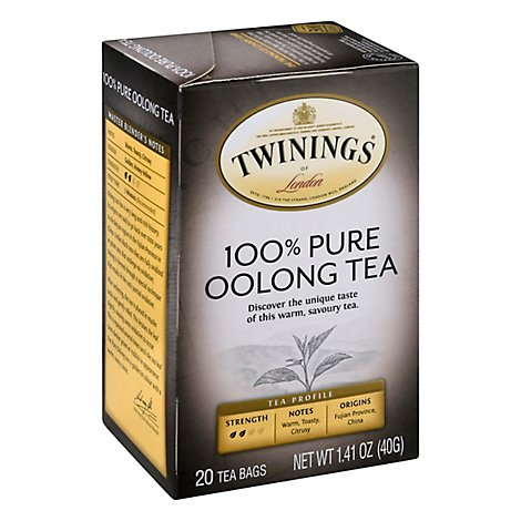 Twinings of London Oolong Tea China - 20 Count