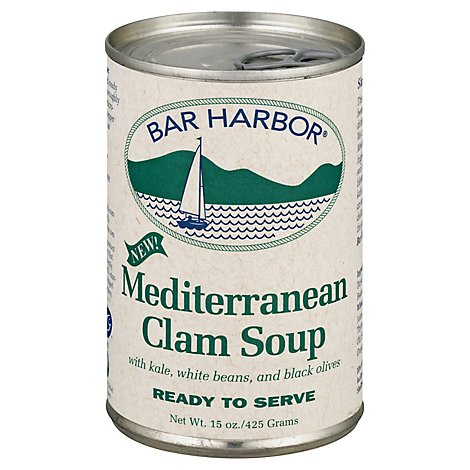 Bar Harbor Soup Zuppa Clam Mediterranean Style - 15 Oz