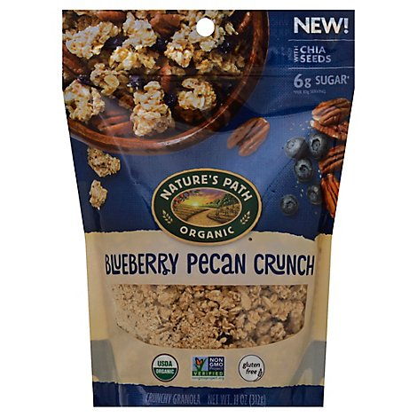 Natures Path Organic Granola Blueberry Pecan Crunch - 11 Oz