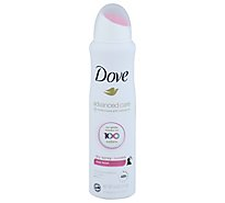 Dove Antiperspirant Deodorant Dry Spray 48h Invisible Clear Finish - 3.8 Oz