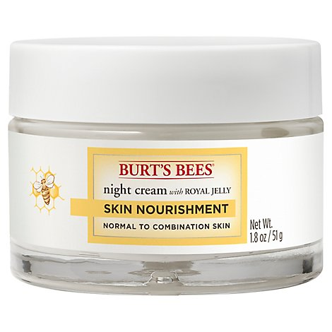 Burt Bee Nourish Night Crm - 1.8 Oz
