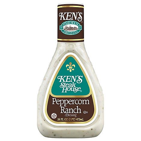 Kens Steak House Peppercorn Ranch - 16 Fl. Oz.