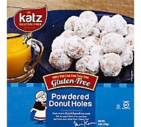 Katz Donut Gluten Free Powdered Holes - 6 Oz