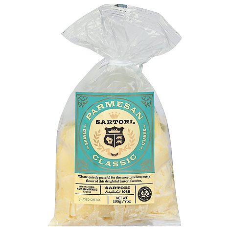 Sartori Parmesan Shaved Bag - 8 Oz