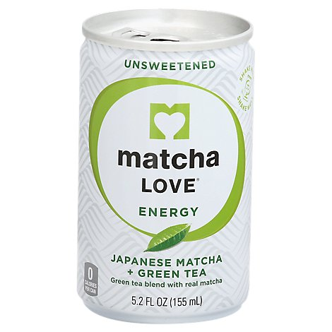 Matcha Love Green Tea Unsweetened Made With Real Matcha - 5.2 Fl. Oz.