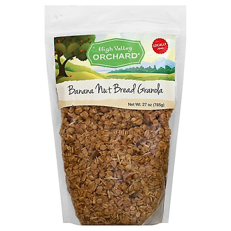 Lv Banana Nut Bread Granola - 27 Oz
