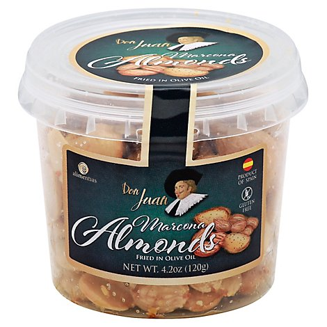 Don Juan Almonds Salted Marcona - 4.2 Oz
