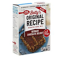 Betty Crocker Btys Original Recipe German Choc Delight Scratch Cake Mix - 19.2 Oz