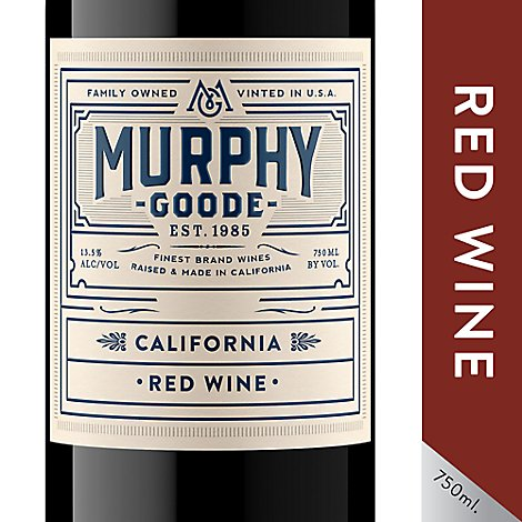 Murphy-Goode Wine Red Blend California - 750 Ml