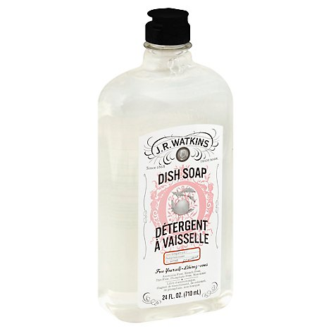 J.R. Watkins Dish Soap Grapefruit - 24 Fl. Oz.