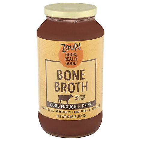 Zoup Good Really Good Bone Broth Beef - 31 Fl. Oz.