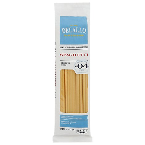 DeLallo Spaghetti No. 4 Pack - 16 Oz