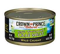 Crown Prince Crab Meat Fancy White-Lump - 6 Oz